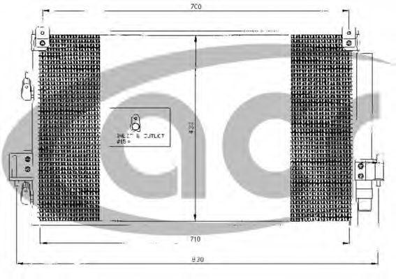 Конденсатор, кондиционер ACR 300462