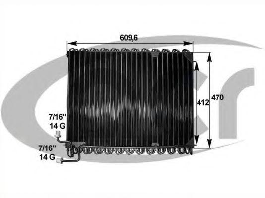 Конденсатор, кондиционер ACR 300634
