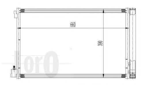 Конденсатор, кондиционер LORO 0370160036