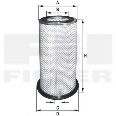 Воздушный фильтр FIL FILTER HP727
