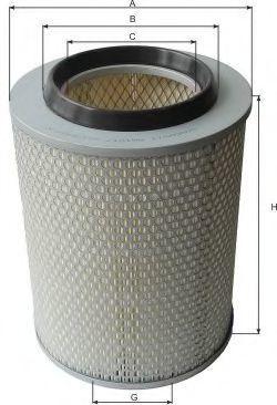 Воздушный фильтр GOODWILL AG1017