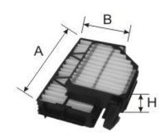 Фильтр, воздух во внутренном пространстве GOODWILL AG1862KCF
