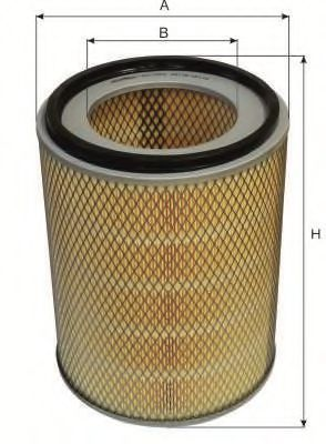 Воздушный фильтр GOODWILL AG1043