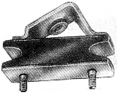 Подвеска, двигатель METALCAUCHO 00402