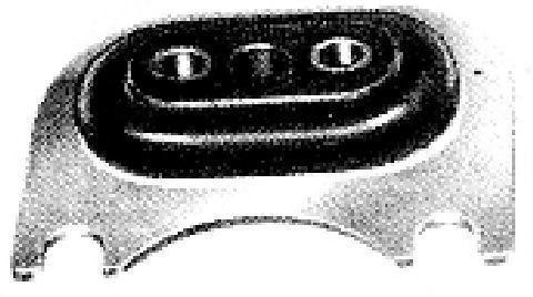 Подвеска, двигатель METALCAUCHO 00403
