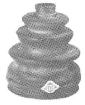 Пыльник ШРУС METALCAUCHO 00493