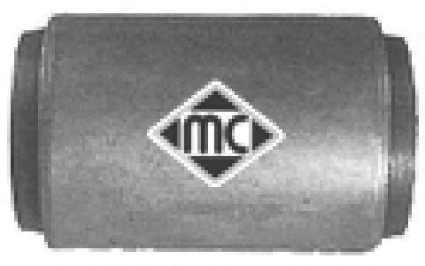 Подвеска, рычаг независимой подвески колеса METALCAUCHO 02886