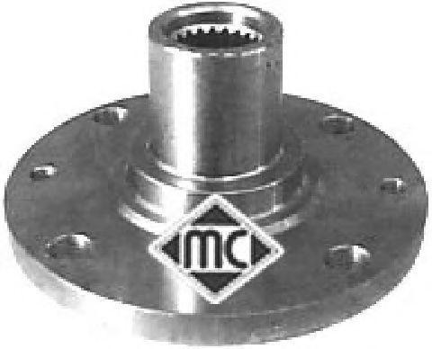 Ступица колеса METALCAUCHO 90099