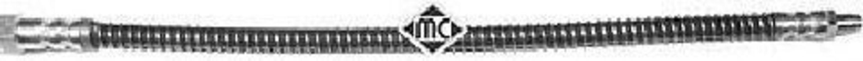 Шланг тормозной METALCAUCHO 96009