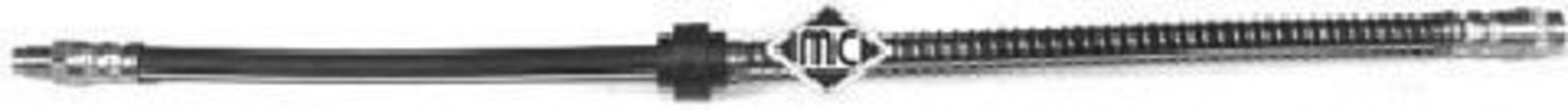 Шланг тормозной METALCAUCHO 96015