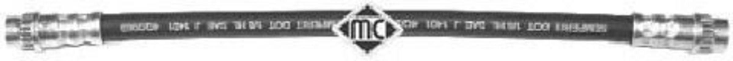 Шланг тормозной METALCAUCHO 96016