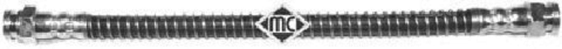 Шланг тормозной METALCAUCHO 96031