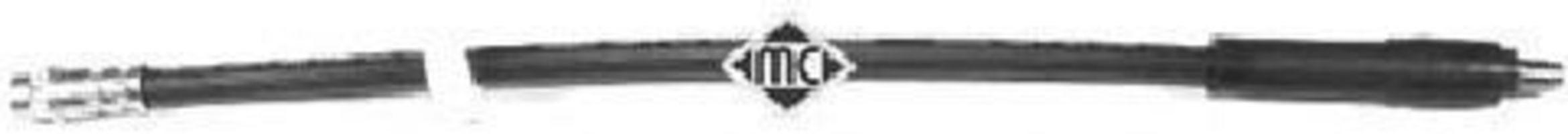 Шланг тормозной METALCAUCHO 96104