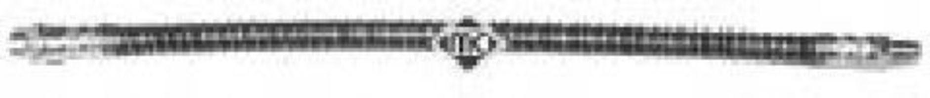 Шланг тормозной METALCAUCHO 96180