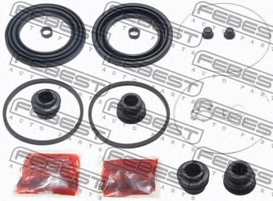 Ремкомплект, тормозной суппорт FEBEST 0175ZZE150F