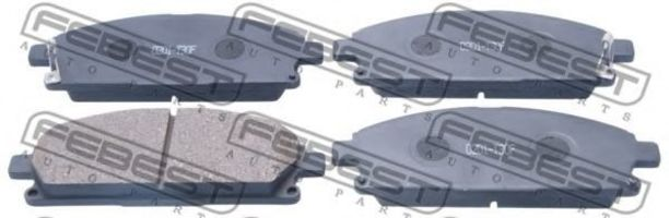 Колодки тормозные FEBEST 0201-T30F