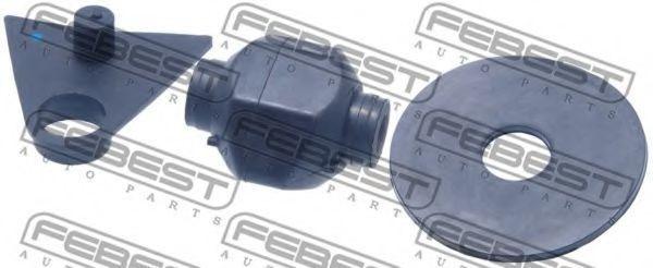 Сайлентблок задней подушки двигателя FEBEST TMB-GSU45RR