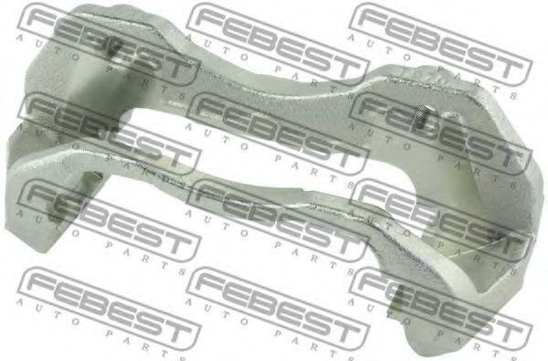 Скоба суппорта переднего FEBEST 0477C-CS3AF
