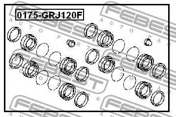 Изображение Ремкомплект суппорта FEBEST 0175GRJ120F: стоимость