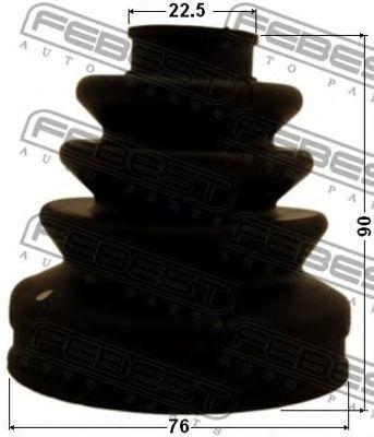 Изображение Пыльник ШРУС внутренний FEBEST 0315CU2: цена