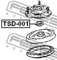 Изображение Сальник опорного подшипника FEBEST TSD001: заказать