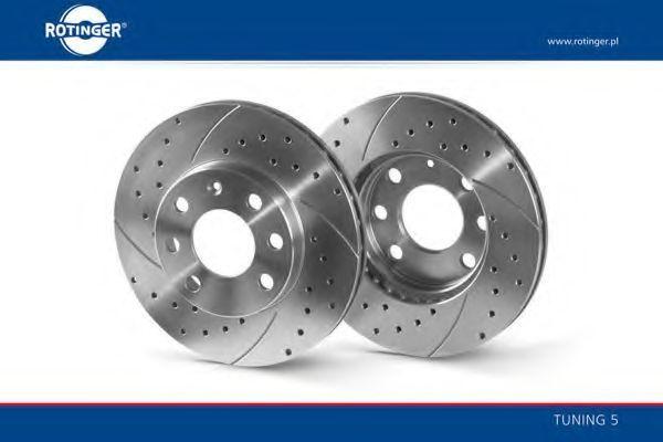 Тормозной диск ROTINGER RT2816T5