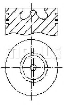 Поршень METAL LEVE P9071