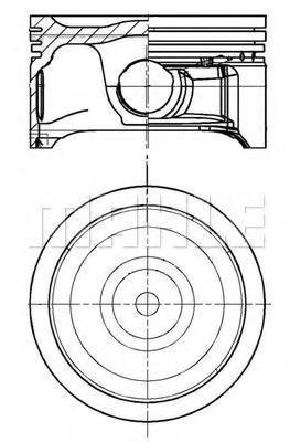Поршень METAL LEVE P9266