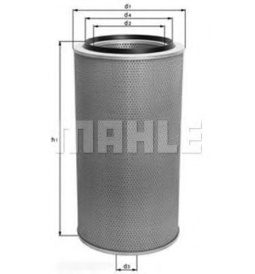 Воздушный фильтр METAL LEVE LX236
