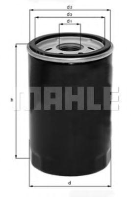 Масляный фильтр METAL LEVE OC114