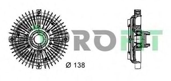 Вискомуфта PROFIT 17202013
