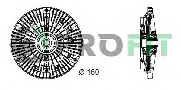 Вискомуфта PROFIT 17203010