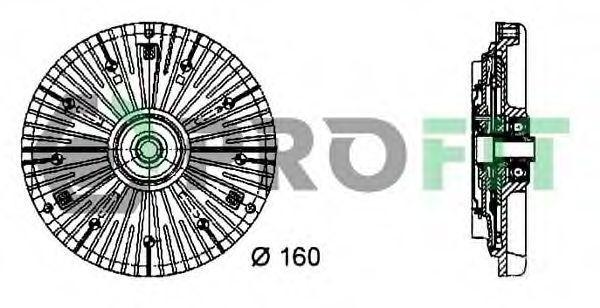 Вискомуфта PROFIT 17203011