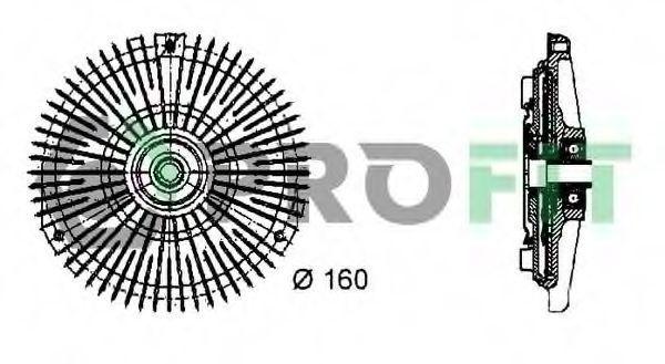 Вискомуфта PROFIT 17203016