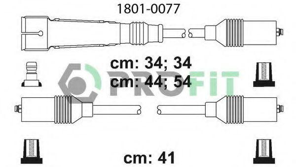 Провода высоковольтные комплект PROFIT 18010077