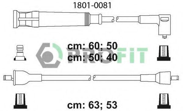 Провода высоковольтные комплект PROFIT 18010081