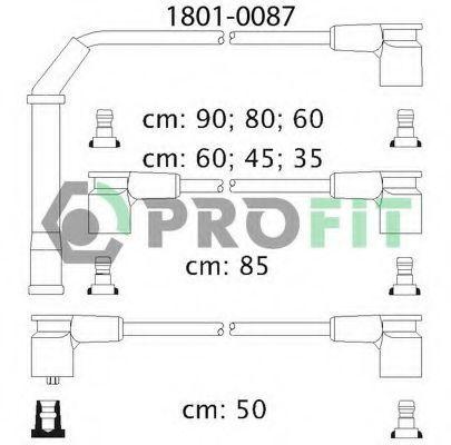 Провода высоковольтные комплект PROFIT 18010087