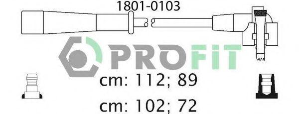 Провода высоковольтные комплект PROFIT 18010103