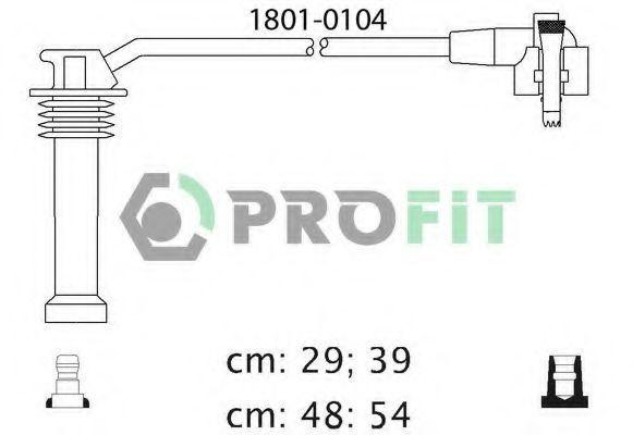 Провода высоковольтные комплект PROFIT 18010104