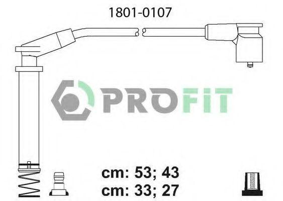 Провода высоковольтные комплект PROFIT 18010107