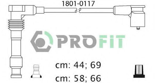 Провода высоковольтные комплект PROFIT 18010117