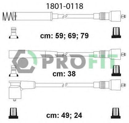 Провода высоковольтные комплект PROFIT 18010118