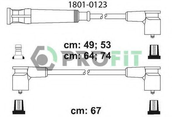 Провода высоковольтные комплект PROFIT 18010123