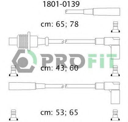 Провода высоковольтные комплект PROFIT 18010139