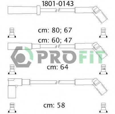 Провода высоковольтные комплект PROFIT 18010143
