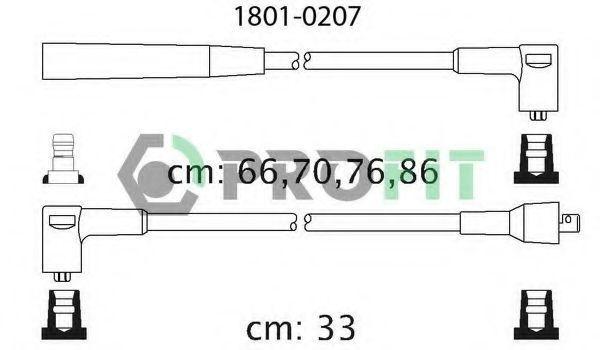 Провода высоковольтные комплект PROFIT 18010207