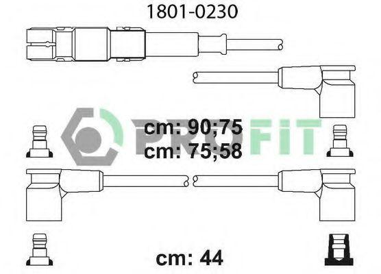 Провода высоковольтные комплект PROFIT 18010230