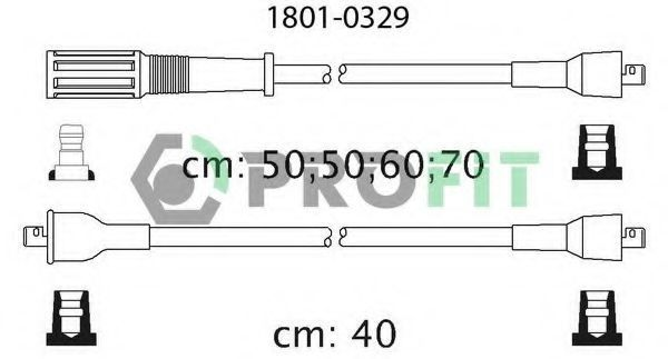 Провода высоковольтные комплект PROFIT 1801-0329