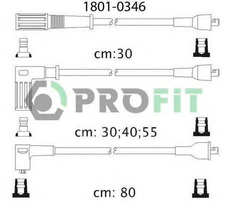 Провода высоковольтные комплект PROFIT 18010346