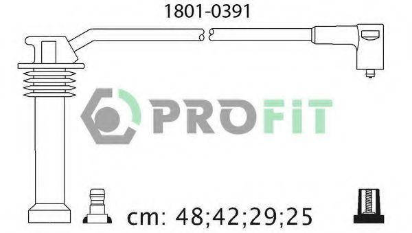 Провода высоковольтные комплект PROFIT 18010391